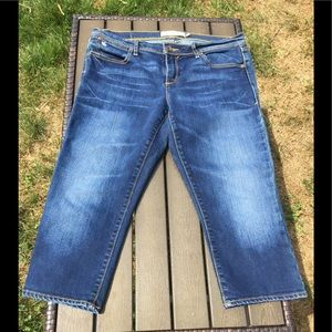 Denim Cropped Capri Jeans- finest quality